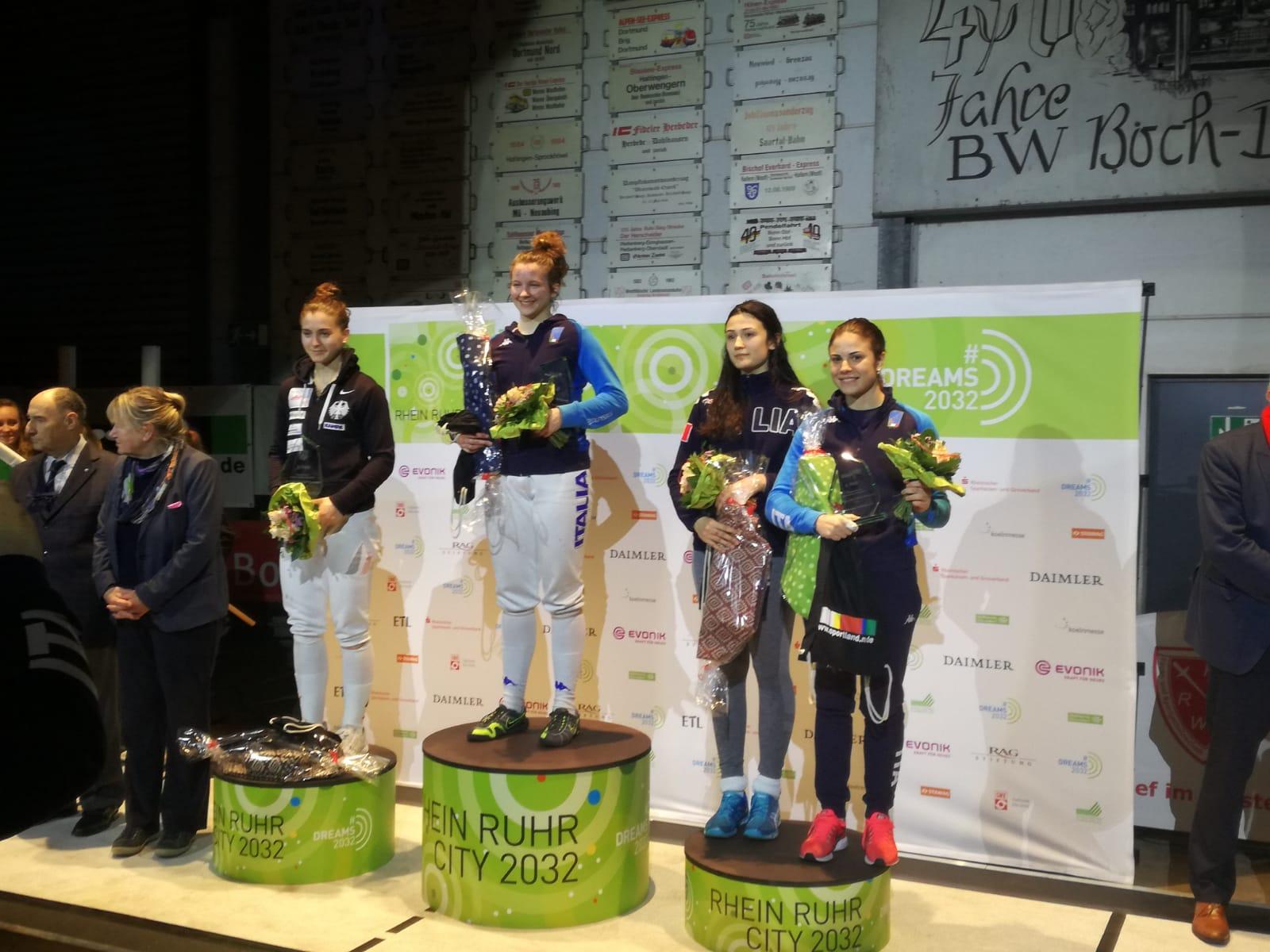 Puglia podio terza